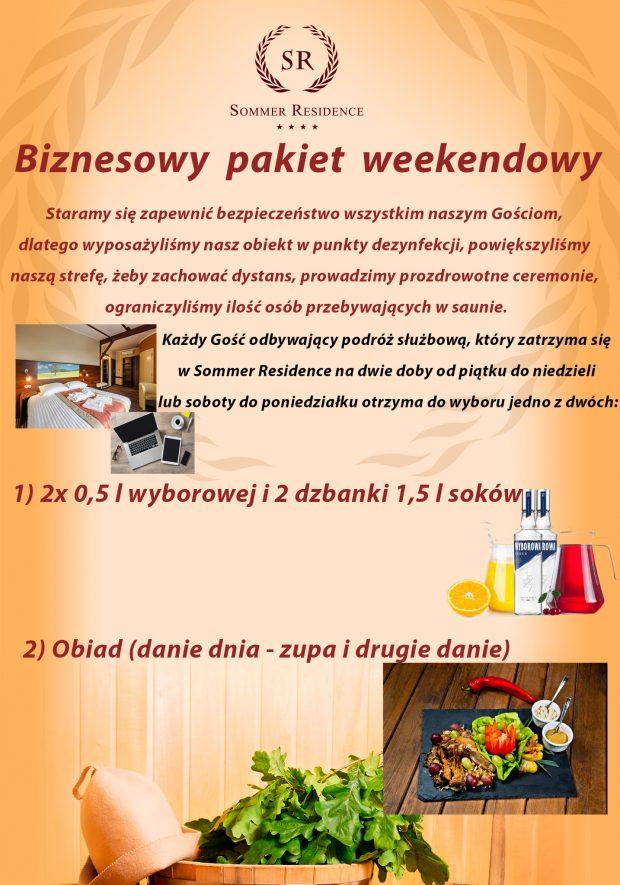 weekendowy pakiet biznesowy 2